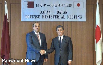 قطر واليابان تبحثان تعزيز العلاقات العسكرية بين البلدين